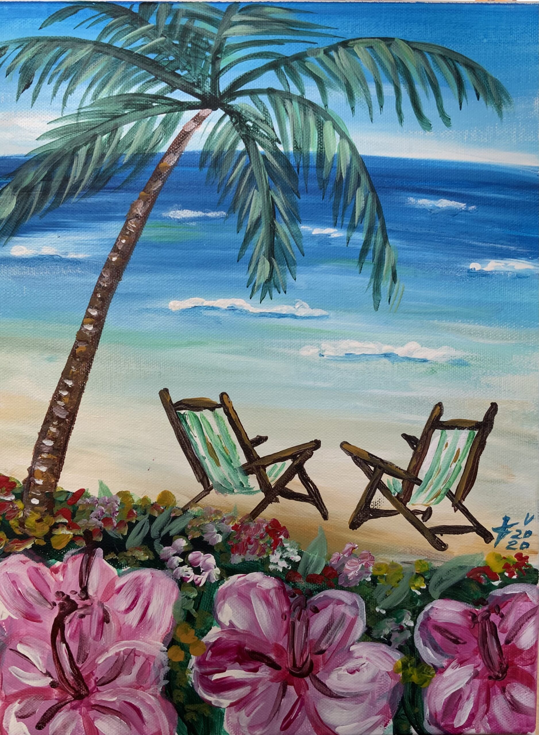 """""""Хавай"""" (Картина акрил) – 40лв"""